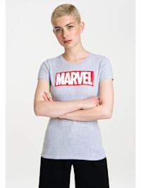 T-Shirt Marvel Logo mit lizenzierten Originaldesign