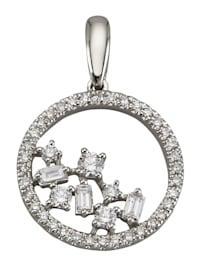 Anhänger mit Diamanten