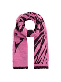 Softer Tiger-Schal mit wärmender Wolle