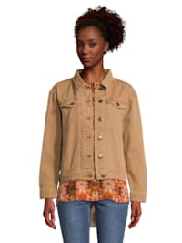 Casual-Jacke mit aufgesetzter Brusttasche Form