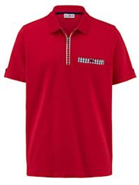 Tričko s kontrastním vypracováním