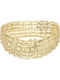 Armband glanz, Gold 333