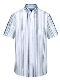 Krepová košeľa z čistej bavlny