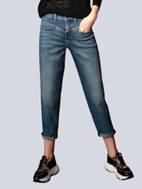 Jeans mit leichter Waschung