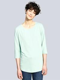 T-shirt à jolies coutures médianes