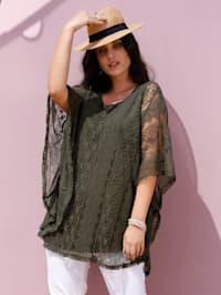 Tunique en dentelle mode