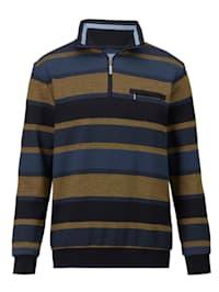 Sweatshirt met borstzak