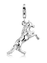 Charm Anhänger Pferd Reiten Hobby 925 Sterling Silber