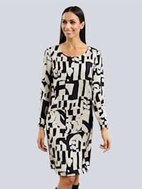 Kleid aus reiner Viskoseware