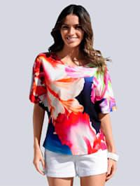Strandshirt mit Fledermausärmeln
