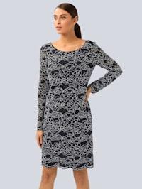 Kleid mit eleganter Spitze