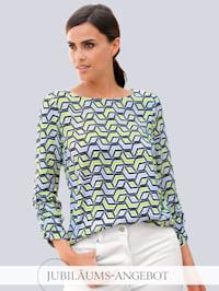 Bluse im Alba Moda exklusivem Print