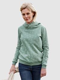 Sweatshirt met print allover
