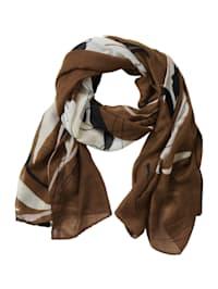 Basic-Schal mit Aufdruck