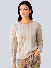 Pullover mit modischem Wascheffekt