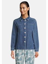 Overshirt im Jeans-Look Form