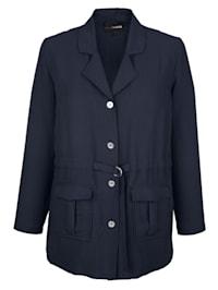 Blúzkový kabátik v ľahkej letnej kvalite