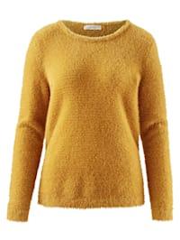 Pullover aus softem Flauschgarn