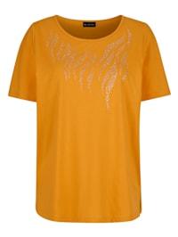 Shirt Bezet met siersteentjes