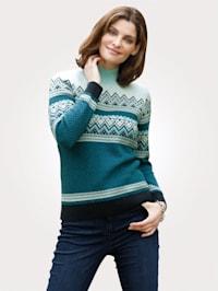 Pullover aus Jacquardstrick