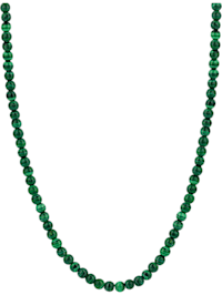 Ti Sento - Milano Damen-Kette 925er Silber Malachit