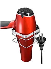 TurboFIX Edelstahl Haartrocknerhalter , rostfrei, Befestigen ohne bohren