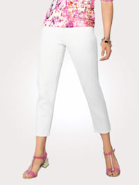 Pantalon 7/8 En coton stretch confortable