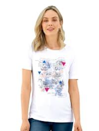 Tričko s grafickým potiskem na předním dílu