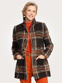 Veste en laine mélangée