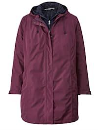 2-in-1-jas met uitneembaar jasje