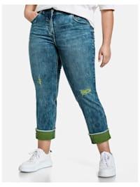 Betty Jeans mit Turn-up Saum