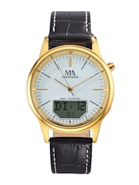Pánske hodinky s digitálnym ukazovateľom