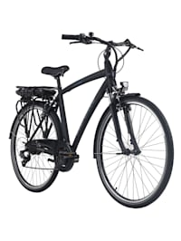 Pedelec E-Bike Cityfahrrad 28'' Adore Versailles schwarz-blau