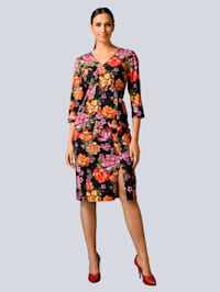 Kleid aus edler Baumwoll-Stretch Ware
