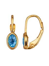 Ohrringe mit Blautopas
