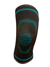 Elastische Kniebandage mit seitlichen Stabilisatoren