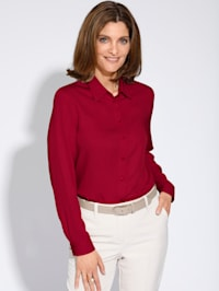 Bluse aus reiner Viskose
