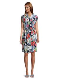 Jerseykleid mit Blumenprint