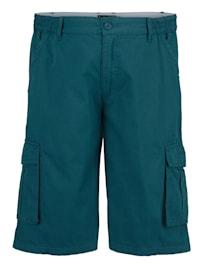 Shorts med extra plats över magen