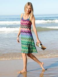 Strandkleid mit Stufe