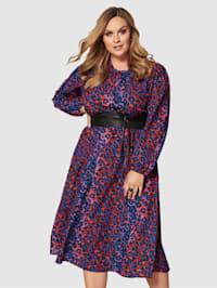 Maxi šaty se zvířecím vzorem