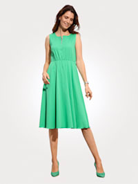 Dress with a flared skirt