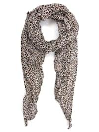 Italienischer Schal Leopardo Made in Italy