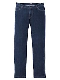 Jeans i stretchmaterial i regular fit