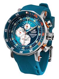 Herren-Uhr Multifunktion Lunokhod 2 Blau