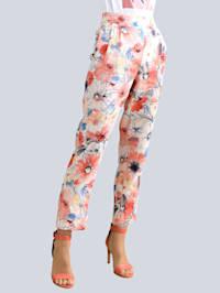 Bukse i ren lin