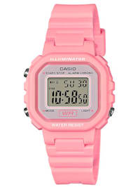 Damen-Digital-Uhr Chronograph rosa LA-20WH-4A1EF