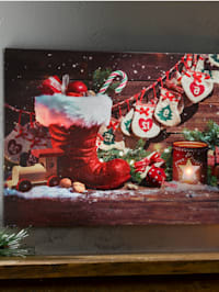 Led-wanddecoratie Laars