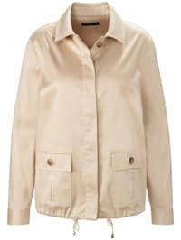 Jackenblazer Jacke mit Hemdkragen .