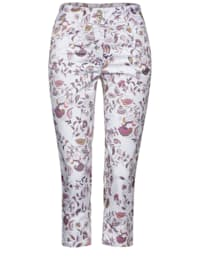 Casual Fit Hose in Paisley